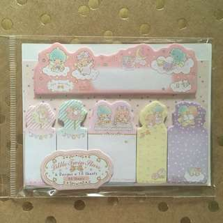Sanrio Little Twin Stars Sticky Notes