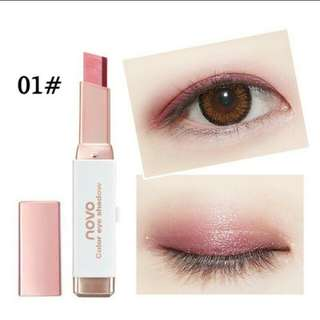 Eye shadow two tone easy application