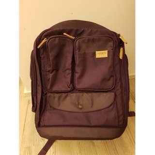 Samsonite red 紫色背囊背包