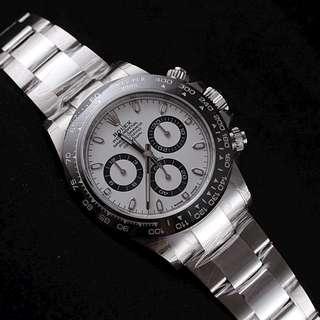 Rolex Daytona White Dial Cerachrom 116500LN