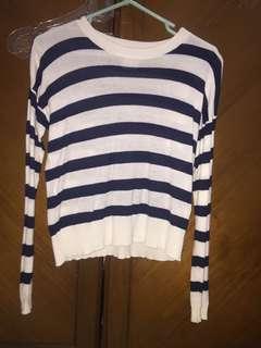 pull&bear stripes sweater