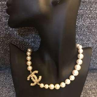 Coco Chanel pearl short necklace