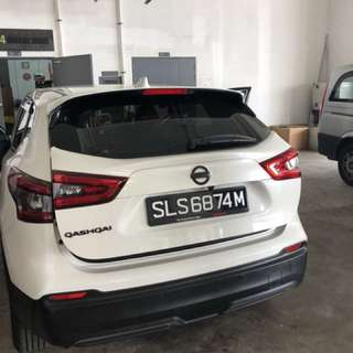 Nissan Qashqai Auto Boot Tailgate Soft Closing Anti Slam