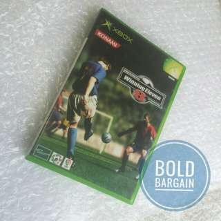 Authentic Winning Eleven 8 Game Disc XBOX Game Console