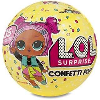 LOL Surprise Confetti Pop Series 3 (IN STOCK)
