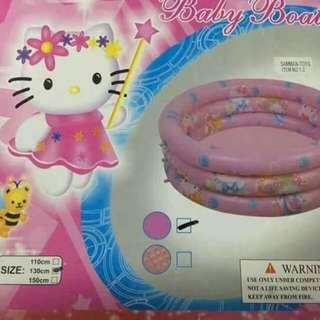 Hello kitty inflatable pool