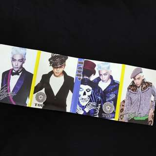 BIG BANG STICKY NOTES (NEW)