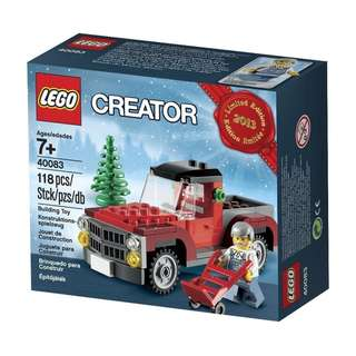 Lego Creator TreeTruck 2013 Limited Edition Holiday Set 40083