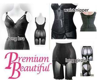 (long brassiere) Premium Beautiful Korset