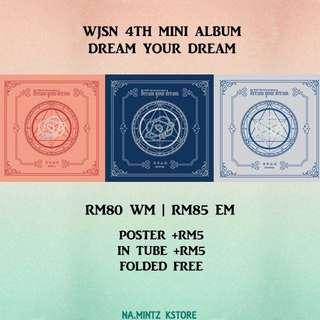 PRE-ORDER WJSN 4TH MINI ALBUM - DREAM YOUR DREAM