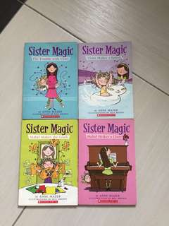 The sister magic series by Anne Mazer