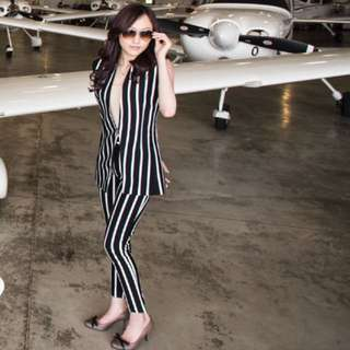 B&W Striped Pants