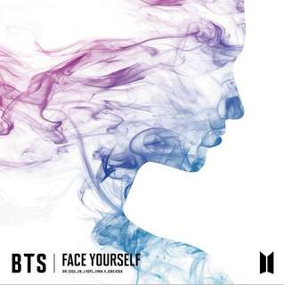 [PO] BTS FACE YOURSELF ALBUM GO