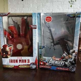 Iron Man/ Thor Hammer Night Light