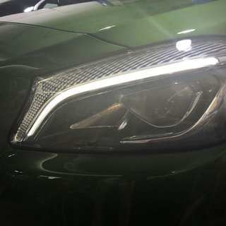 Mercedes-Benz A Class LED High Performance Light Retrofitted