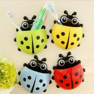 Ladybug Tooth brush holder