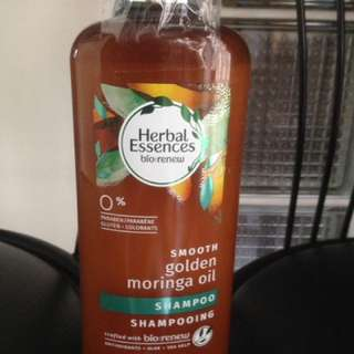 Smooth Golden Moringa Oil shampoo