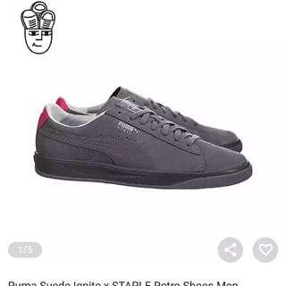 Puma Suede Ignite x Staple Retro shoes