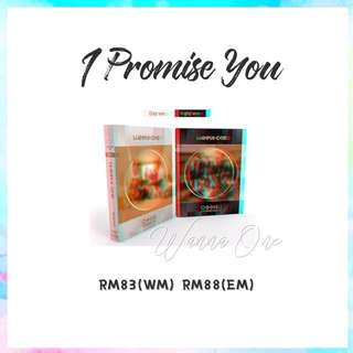 Preorder - Wanna One I Promise You