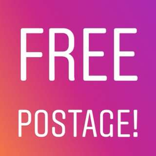 Free Postage Month!!!