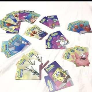 Cow Play Cow Moo Spongebob Cards 83@ $180!