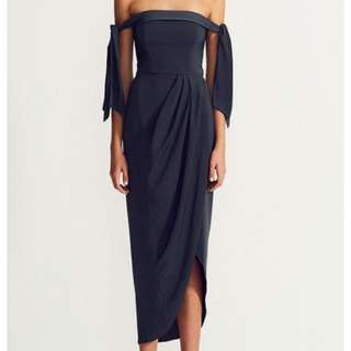 Shona Joy - Tie Shoulder Bustier Dress