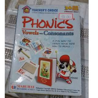 PHONICS vowels& consonants