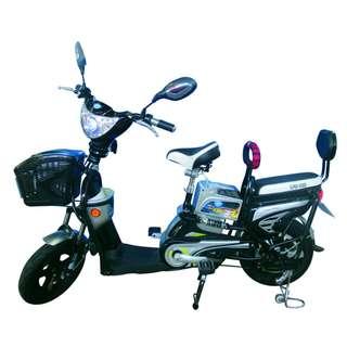 Sepeda Listrik Super Rider Earth Gold Ban Tubeless Murah