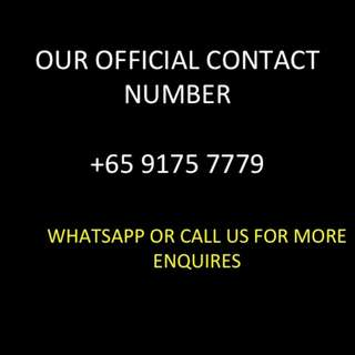 OFFICIAL CONTACT NUMBER