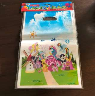 My Little Pony loot bags