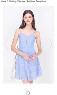 Fayth edel lace swing dress