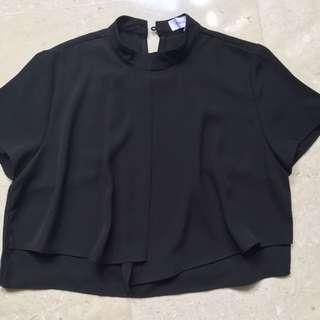 TEM Black Blouse