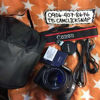 Canon eos 550d with 18 55mm is lens and accesories free bag