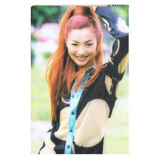 5707,YES CARD-鄭秀文SAMMI,背面-SAMMI 第一次演唱會受壓力