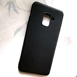 CASE BLACK MATTE SAMSUNG A8 2018