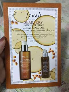 Fresh seaberry cleansing oil