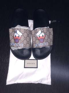 Gucci slipper flipper slides sandals rare