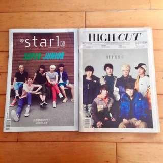 Super Junior 雜誌