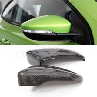Carbon Fibre Mirror Covers For VW Scirocco (Replacement Type)