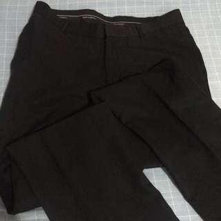 Black slacks size 34