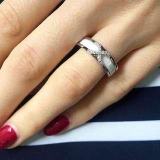Ceramic ring!✨s925