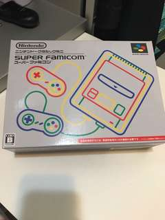 Nintendo Super Famicom 超級任天堂