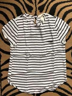 H&M Formal Stripes Blouse