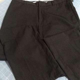Slacks size 34 brown