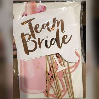 BRIDE TO BE PARTY PROP
