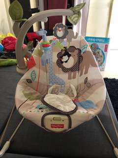 Fisher price bouncer/baby chair/swing