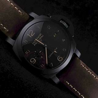 Panerai Pam441 Luminor Ceramica 1950 3 Days GMT