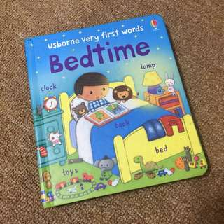 Usborne Very First Words Bedtime Book