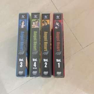 4盒 Angel heart DVD。交收平日1730後北角至金鐘至旺角,時間因地點或平郵不包險或順豐自付