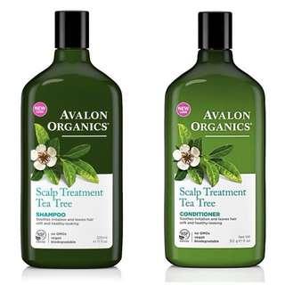 Avalon Organics Scalp Treatment Tea Tree